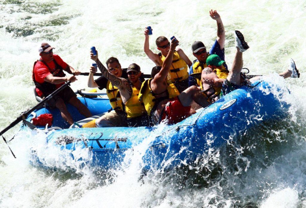 Half Day Rafting Trip Salmon River Riggins Idaho Northwest River Adventures