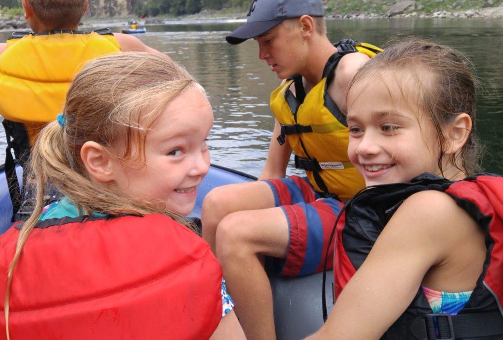 Full Day Rafting Trip Salmon River Riggins Idaho Northwest River Adventures